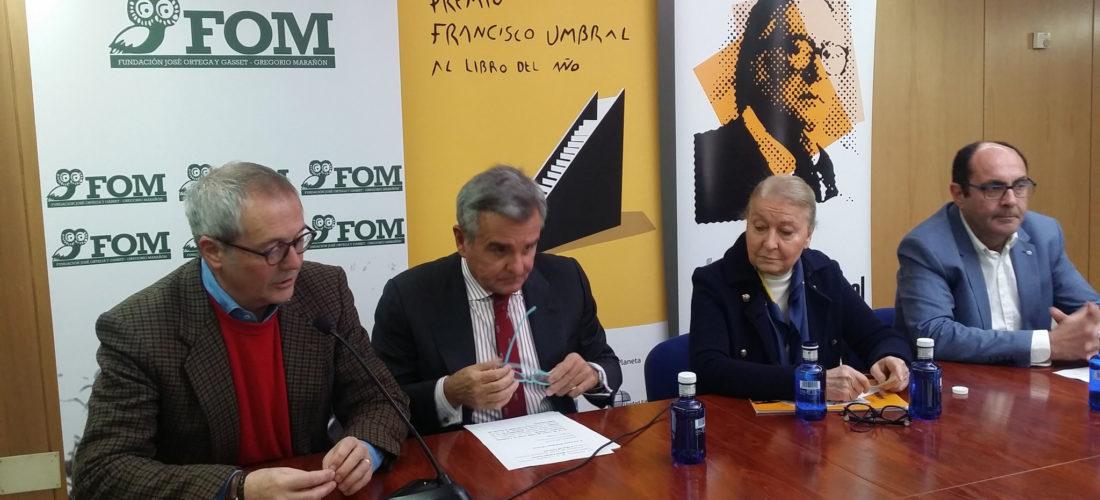 La Fundación Ortega-Marañón acogió el fallo del Premio Francisco Umbral al Libro del Año