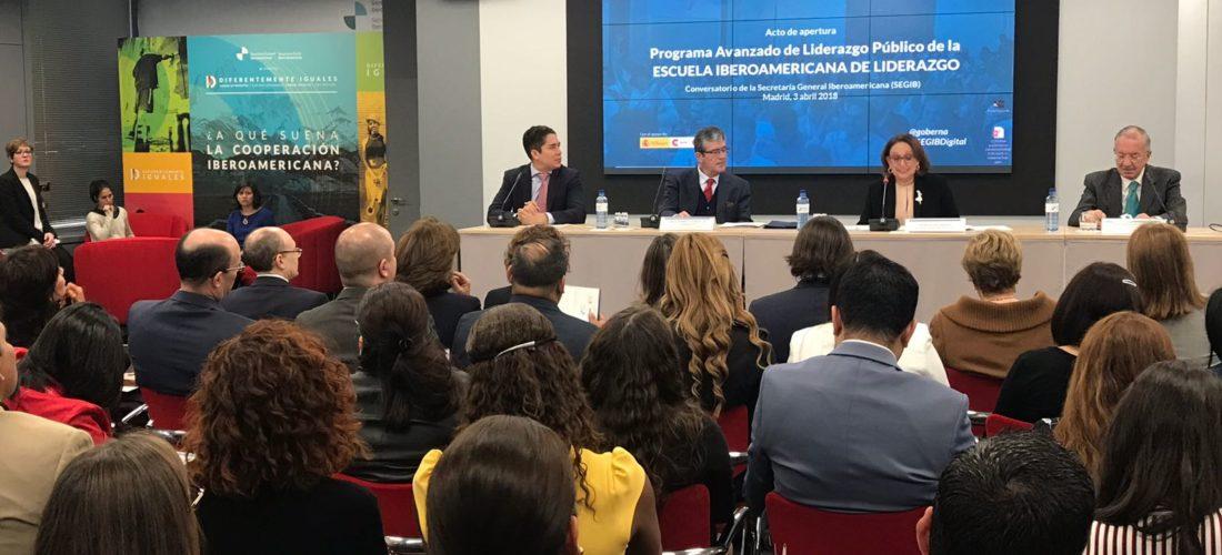 La Escuela Iberoamericana de Liderazgo inaugura oficialmente su Programa Avanzado de Liderazgo Público