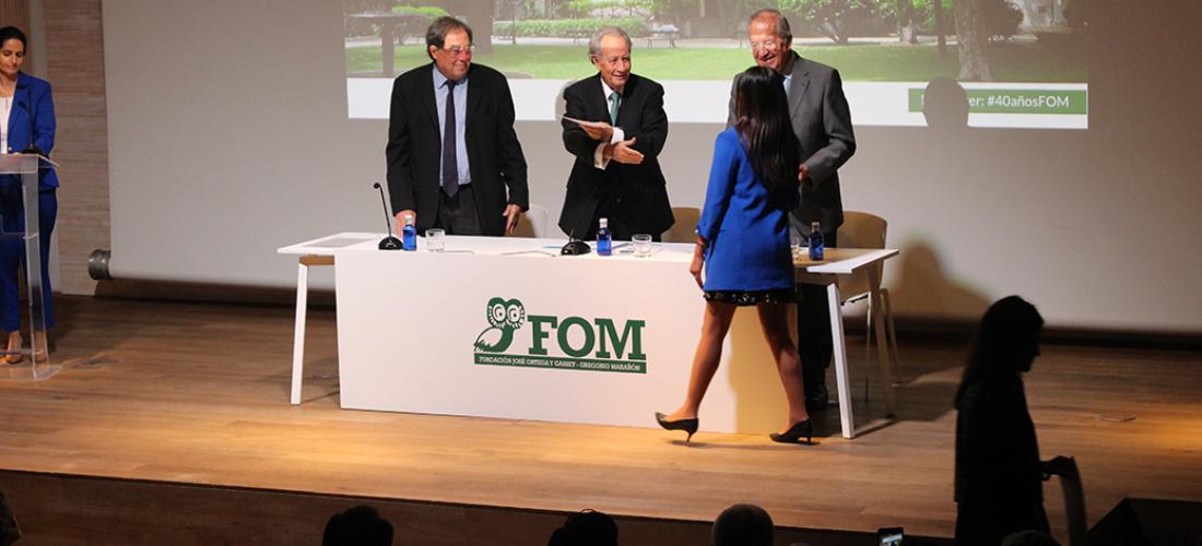 La Fundación Ortega-Marañón inaugura oficialmente su curso académico 2018-2019