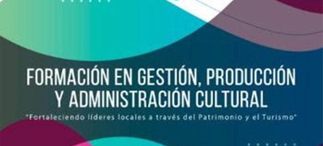 Se abre el plazo de inscripción para el programa virtual de Formación en Gestión, Producción y Administración Cultural