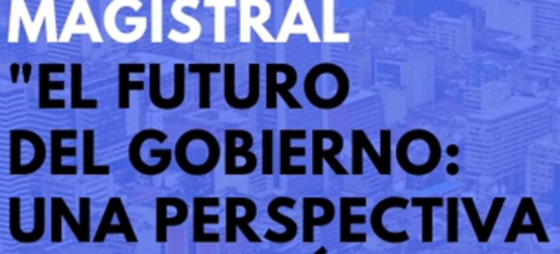 Conferencia magistral de Silverio Zebral: el futuro del Gobierno. Una perspectiva desde América Latina
