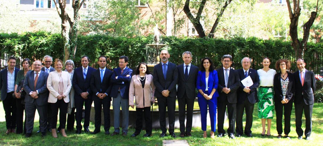 La Fundación Ortega-Marañón impulsa un encuentro entre el secretario de Educación Superior, Ciencia, Tecnología e Innovación de Ecuador y los rectores de las universidades Complutense, Salamanca, Rey Juan Carlos y UIMP