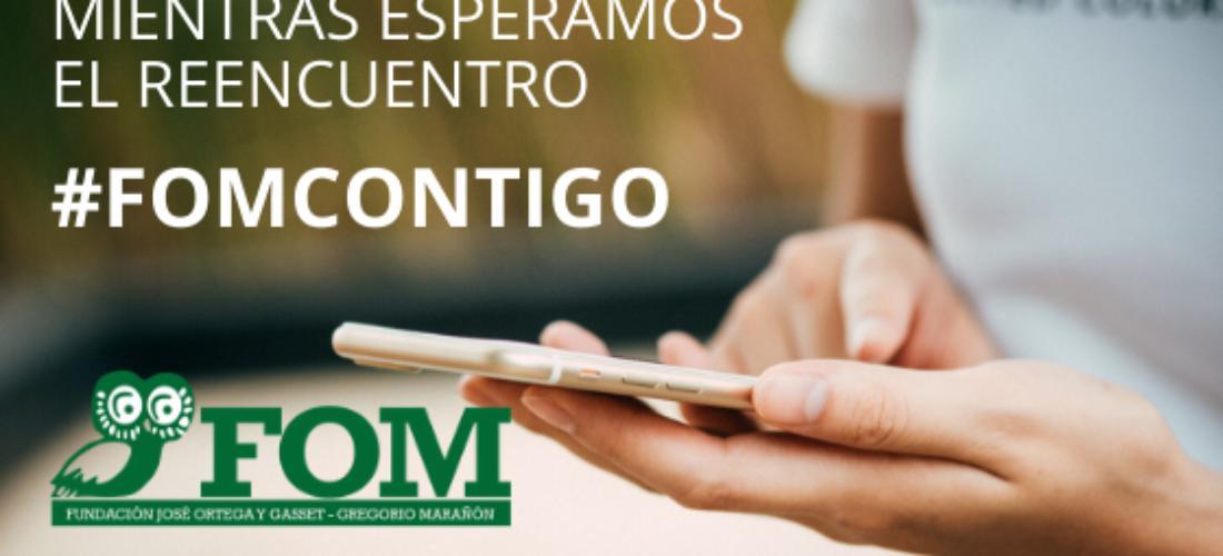 Contenidos digitales gratuitos #FOMContigo. Análisis y debate