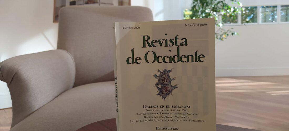 Revista de Occidente dedica su número de octubre a la figura de Galdós