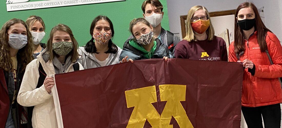 Fundación Ortega-Marañón reinicia sus cursos de primavera en Toledo con un primer grupo de alumnos de la Universidad de Minnesota