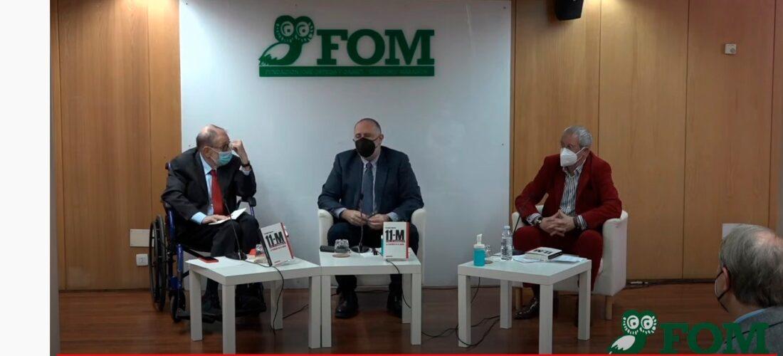 """La FOM acoge la presentación del libro de Fernando Reinares: """"11-M, la venganza de Al Qaeda""""."""