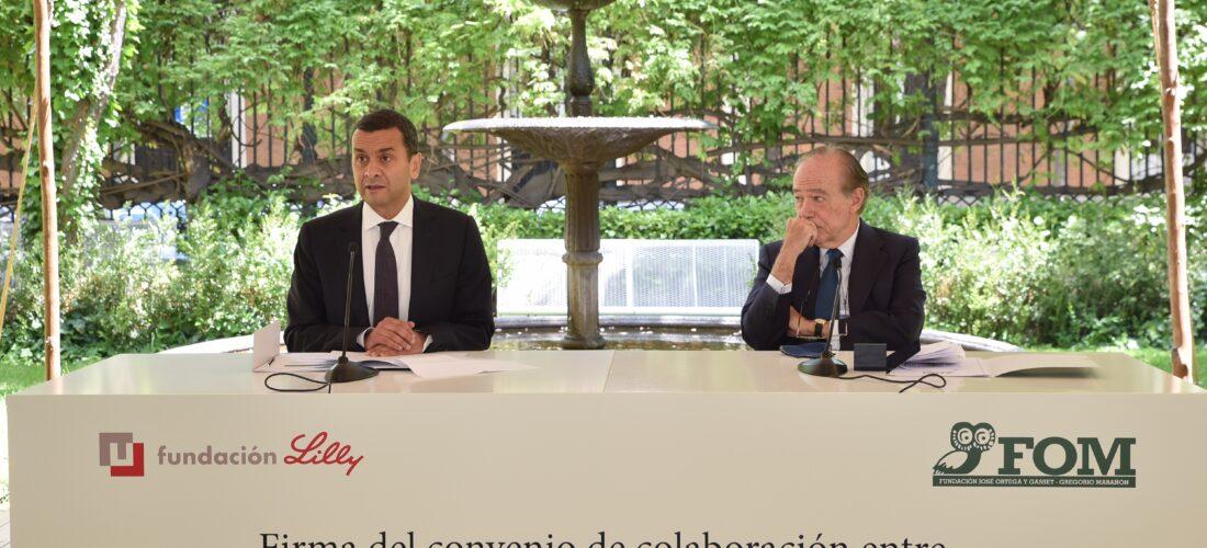 La Fundación Lilly y la Fundación Ortega-Marañón firman un convenio de colaboración para impulsar la cultura científica y promover el pensamiento crítico en la sociedad