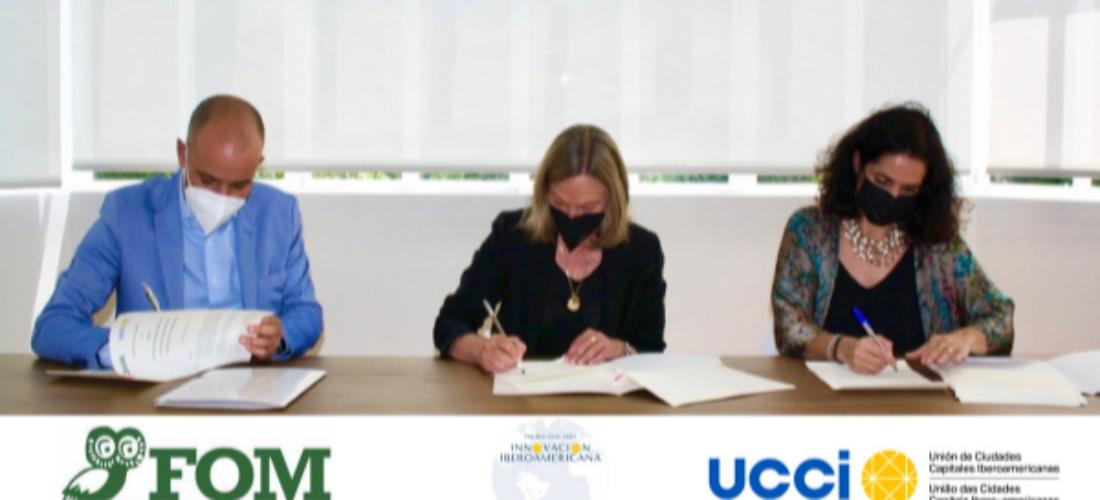 La Unión de Ciudades Capitales Iberoamericanas (UCCI) y la Fundación Ortega-Marañón (FOM) lanzan la I edición del Premio a la Innovación Iberoamericana