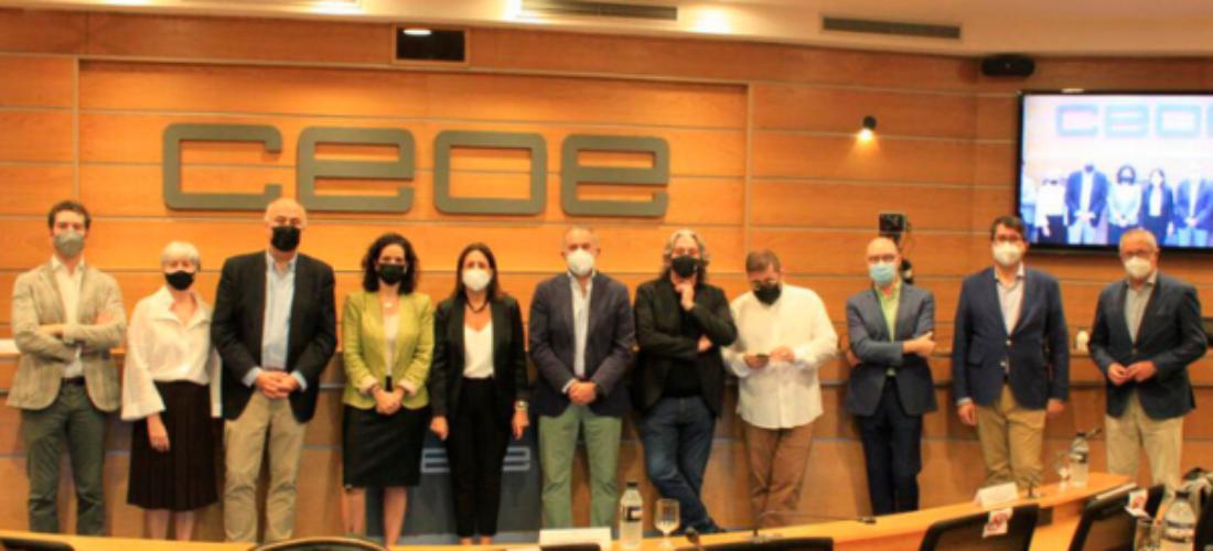 La reinvención del sector de las industrias culturales y creativas y sus retos a debate en CEOE
