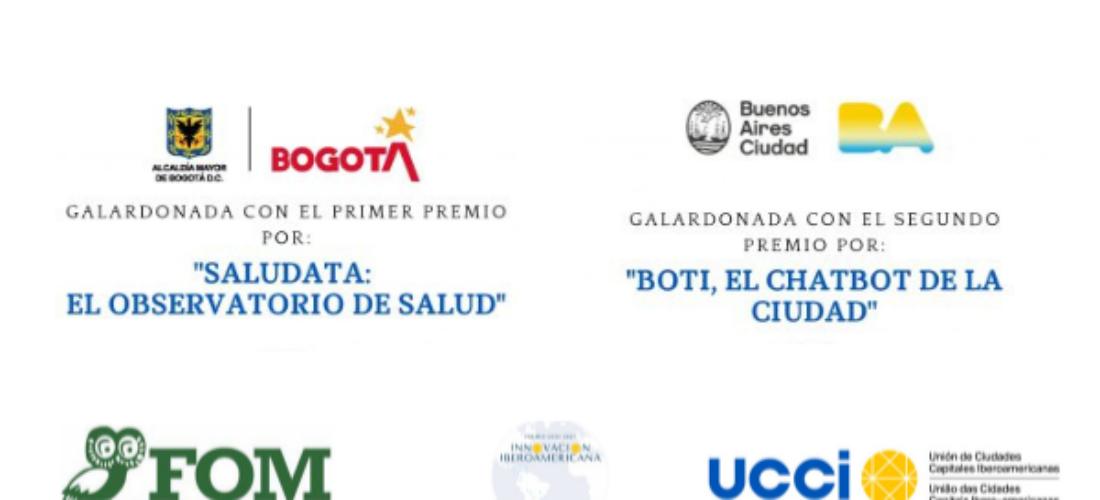 Las ciudades de Bogotá y Buenos Aires, ganadoras del Premio UCCI a la Innovación Iberoamericana 2021