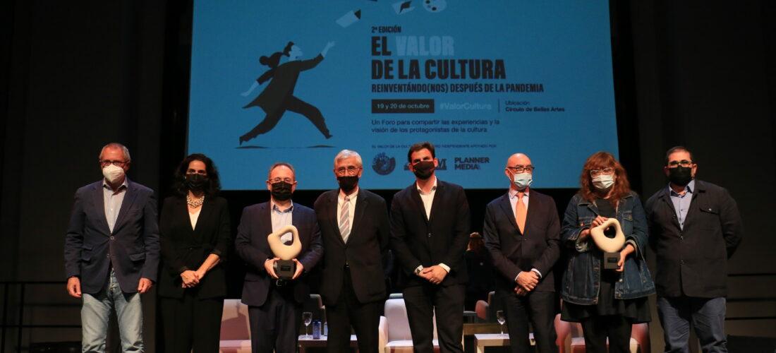 La directora de cine Isabel Coixet y el director teatral Jesús Cimarro, premios Liderazgo Cultural